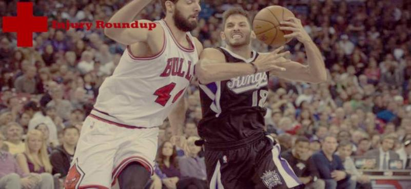 NBA Injury Roundup: 4-5-15