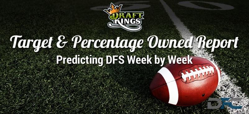 NFL Target & Percentage Ownership Report: Week 16