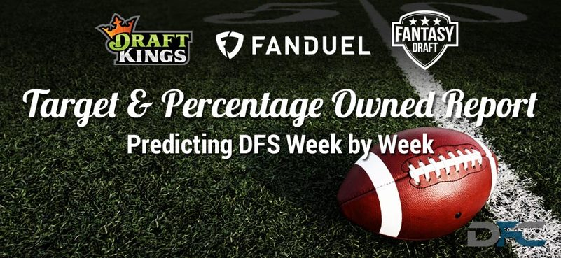 NFL Target & Percentage Ownership Report: Week 3