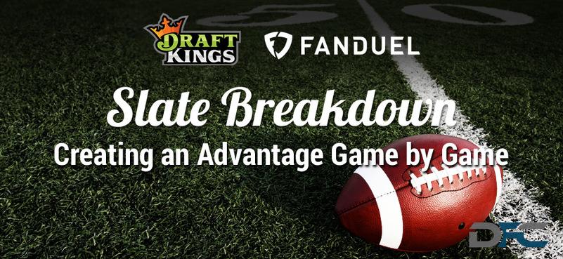 NFL Week 10 Slate Breakdown