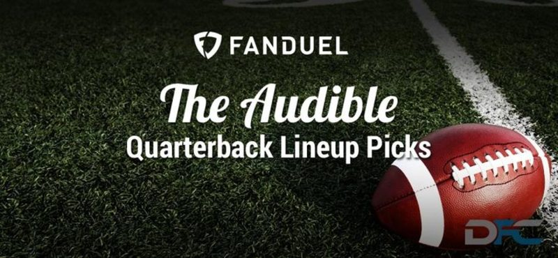FanDuel Quarterback Analysis: NFL Week 13