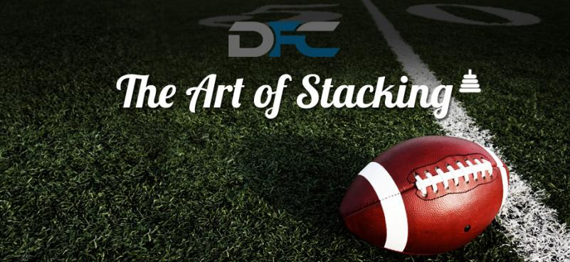 Art of Stacking QB/WR/TE