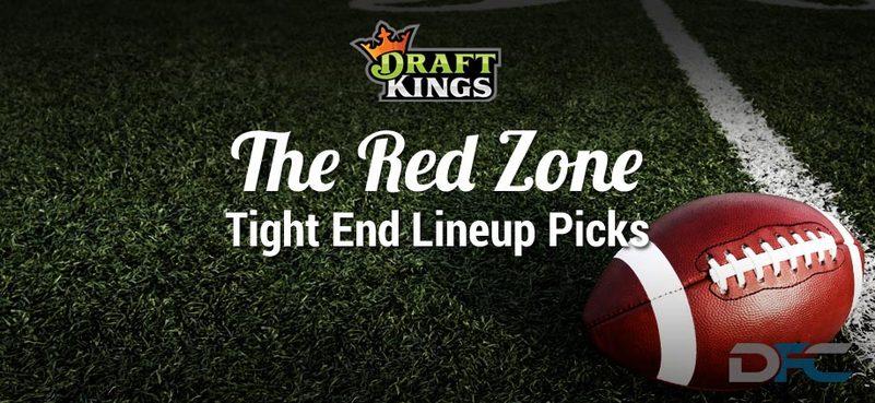 DraftKings Tight End Analysis: NFL Week 17