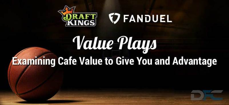 FanDuel & DraftKings NBA Value Plays: 1-6-17