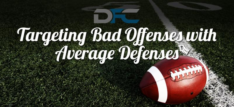 Targeting Bad Offenses with Average Defenses