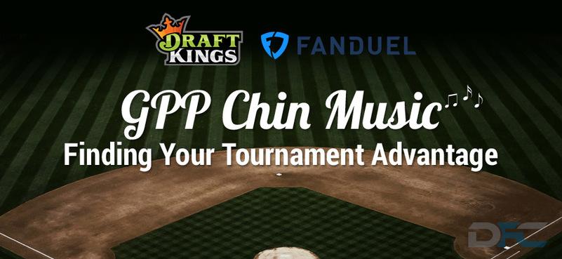 MLB GPP Tournament Picks:  4-9-17
