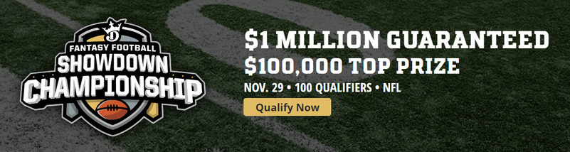 DraftKings NFL Showdown Championship