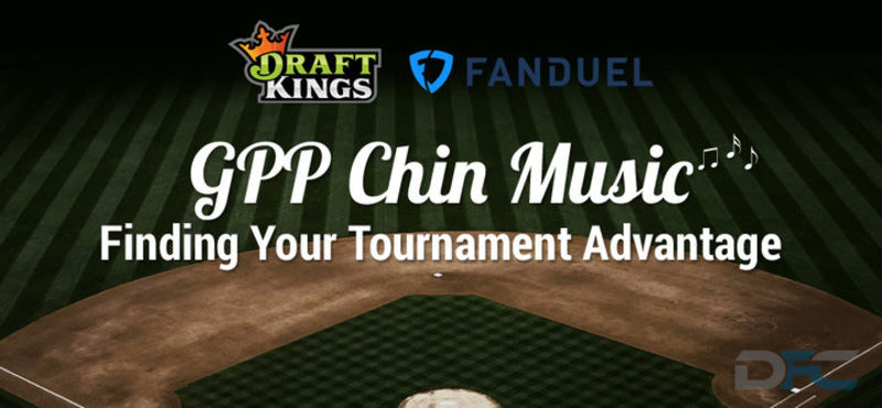 MLB GPP Tournament Picks: 9-1-17