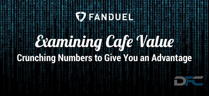 NFL Week 2: Examining FanDuel Cafe Value
