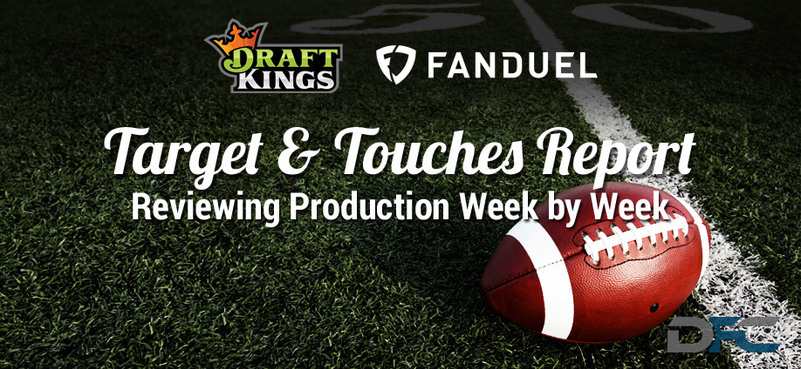 NFL Target & Touches Report: Week 8