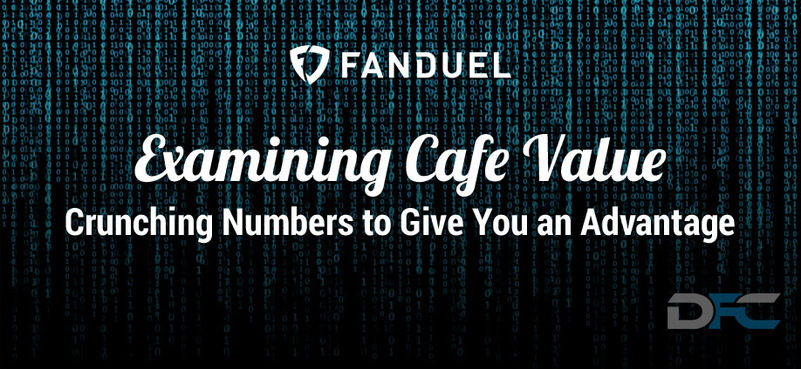 NFL Week 9: Examining FanDuel Cafe Value