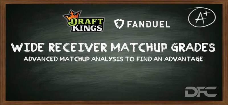NFL Week 9: WR/CB Matchup Grades