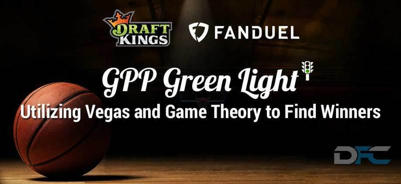 NBA GPP Green Light 1-23-18