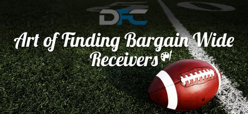 Art of Finding Bargain Wide Receivers
