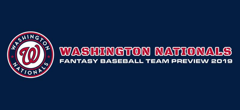 Washington Nationals Fantasy Baseball Team Preview 2019