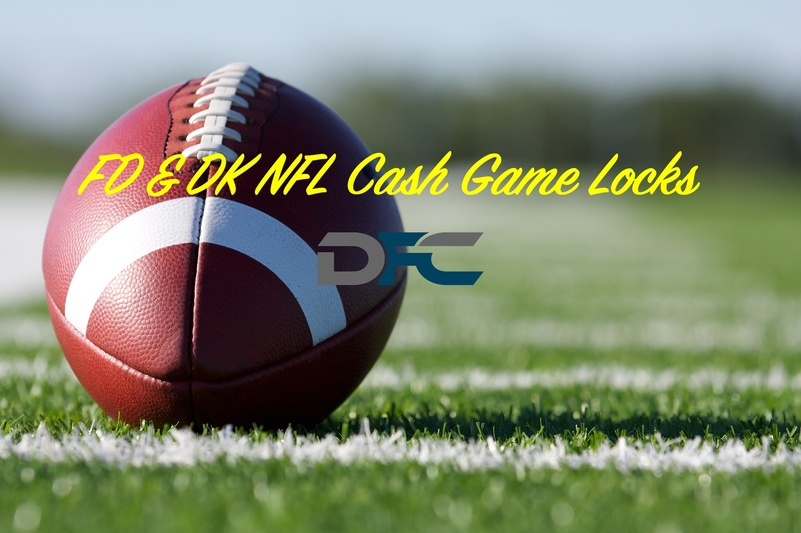 FanDuel & DraftKings NFL Week 3: Cash Game Locks