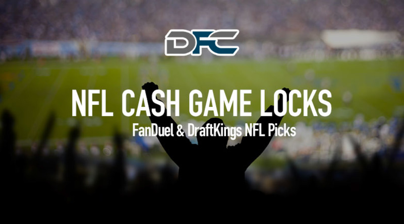 FanDuel & DraftKings NFL Week 7: Cash Game Locks