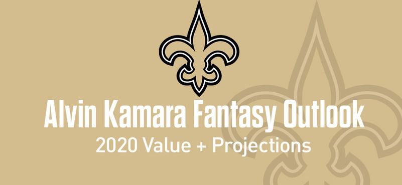 Alvin Kamara Fantasy Football Value & Outlook 2020