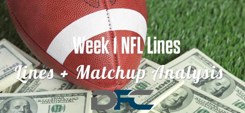 NFL Week 1 Lines