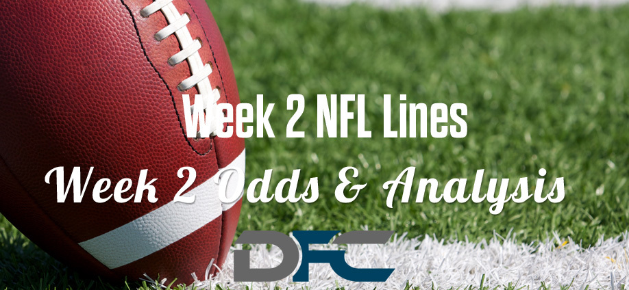 Week 2 NFL Lines & Odds: Matchup Predictions