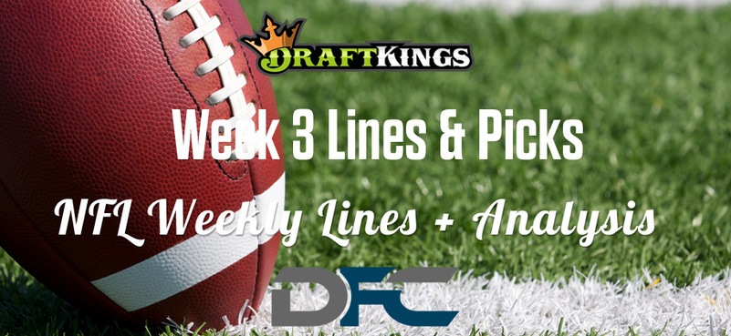 Week 3 NFL Lines & Odds: Matchup Predictions