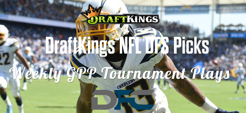 DraftKings Daily Fantasy GPP Tournament Picks - Week 3