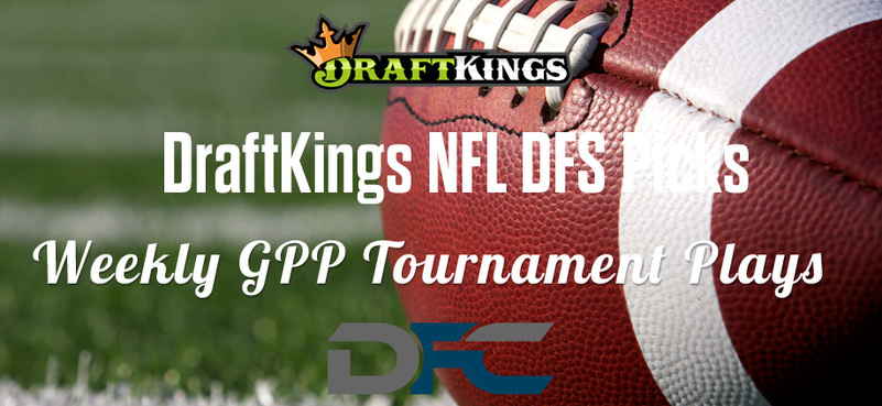 DraftKings Daily Fantasy GPP Tournament Picks - Week 4