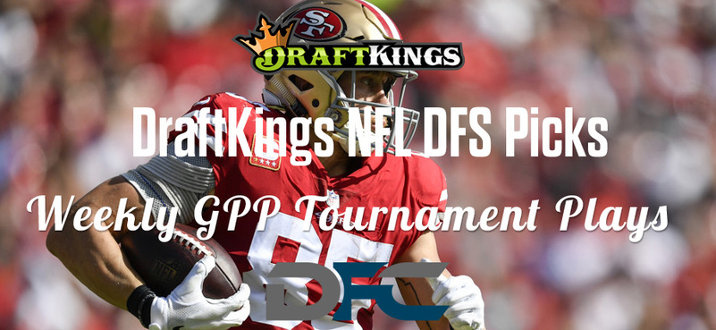 DraftKings Daily Fantasy GPP Tournament Picks - Week 5