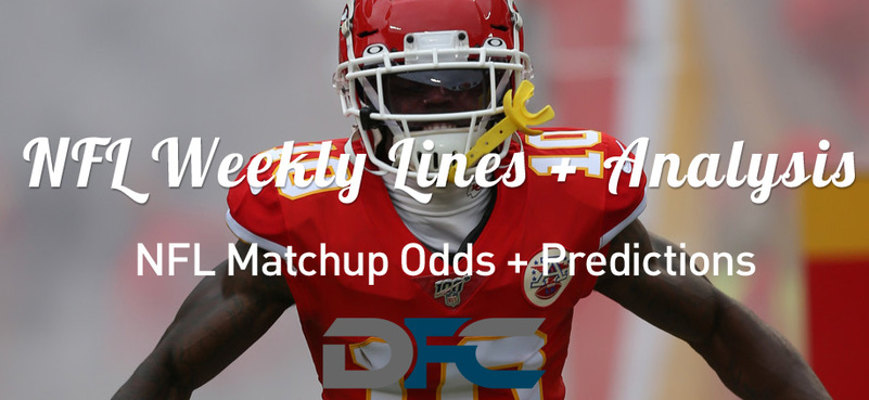 Week 6 NFL Lines & Odds: Matchup Predictions