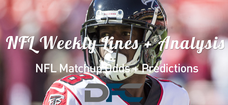 Week 7 NFL Lines & Odds: Matchup Predictions