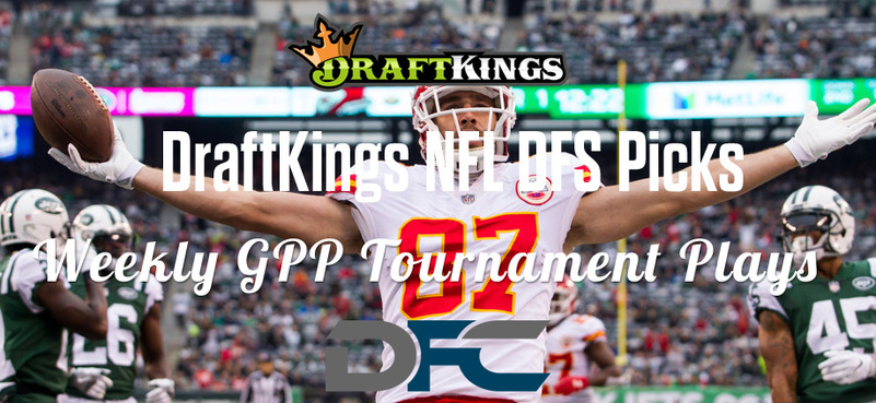 DraftKings Daily Fantasy GPP Tournament Picks - Week 7