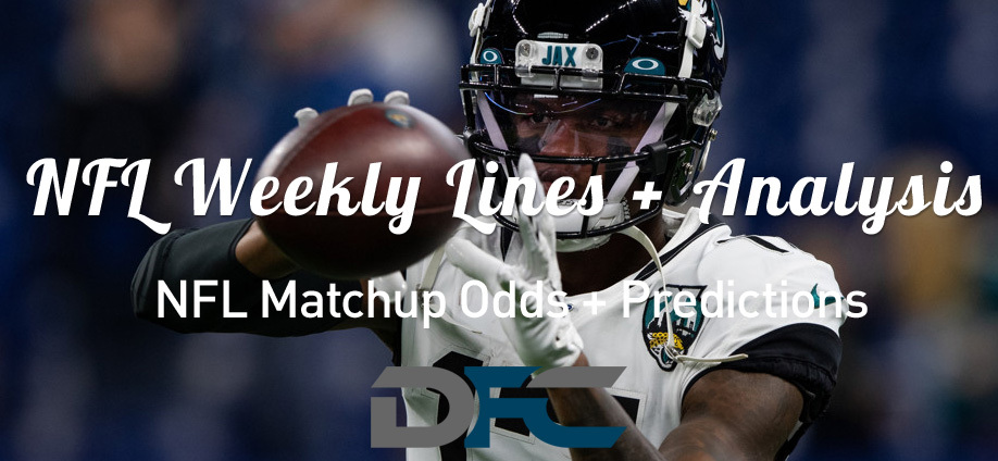 Week 8 NFL Lines & Odds: Matchup Predictions
