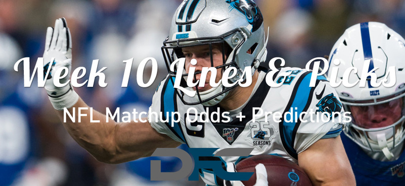 Week 10 NFL Lines & Odds: Matchup Predictions