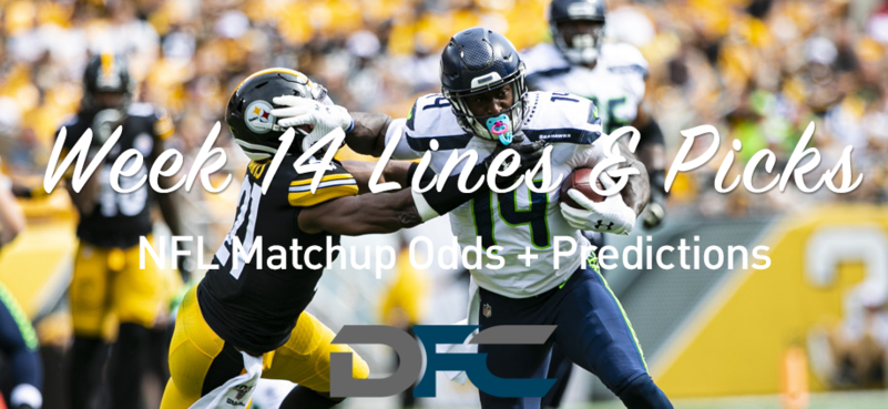 Week 14 NFL Lines & Odds: Matchup Predictions