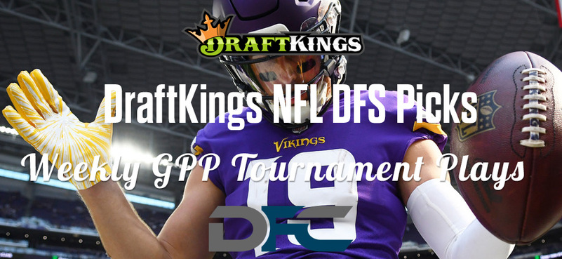 DraftKings Daily Fantasy GPP Tournament Picks - Week 17