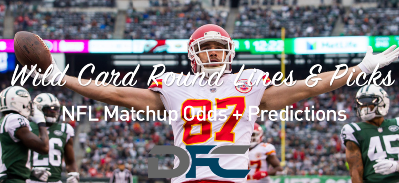 Wild Card Round NFL Lines & Odds: Matchup Predictions