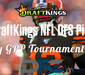 DraftKings Daily Fantasy GPP Tournament Picks - Divisional Round
