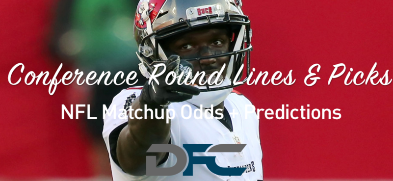 Conference Round NFL Lines & Odds: Matchup Predictions