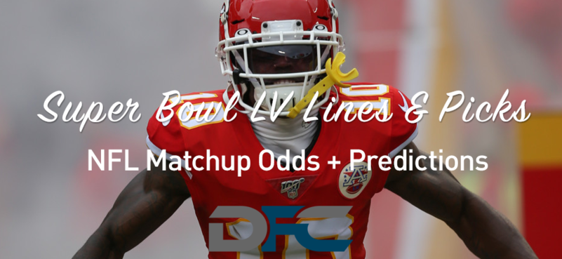 Super Bowl 55 NFL Lines & Odds: Matchup Predictions (2/7/21)
