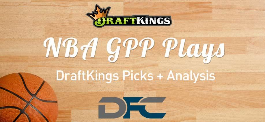 DraftKings NBA GPP Plays: 2/24/21