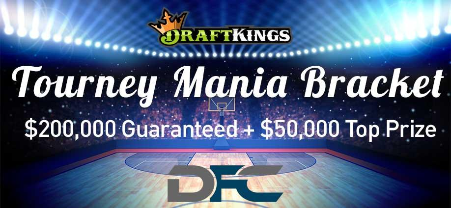 DraftKings Tourney Mania Bracket