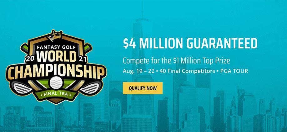$4 DraftKings World Fantasy Golf Championship