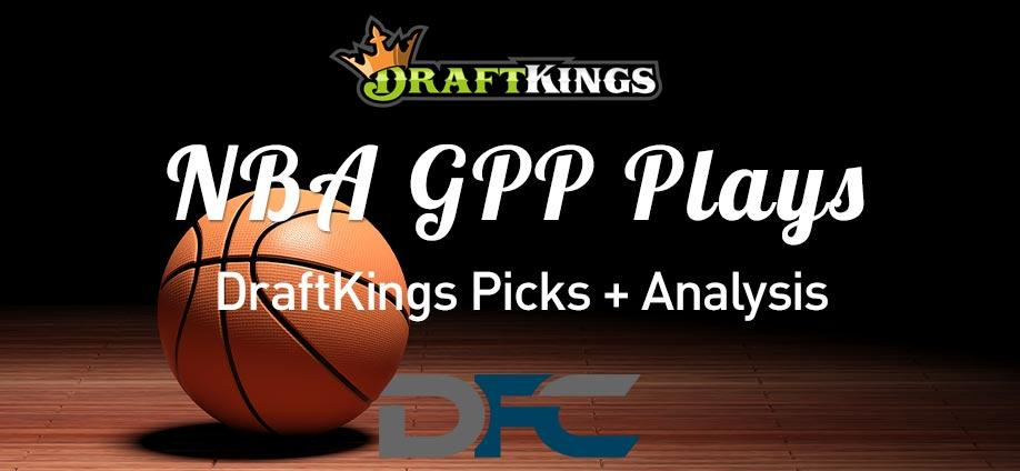 DraftKings NBA GPP Plays: 3/22/21