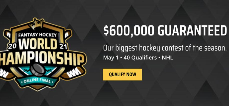 DraftKings $600K Fantasy Hockey World Championship