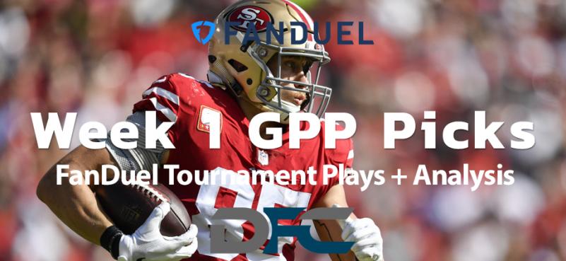 Week 1 FanDuel NFL GPP Picks