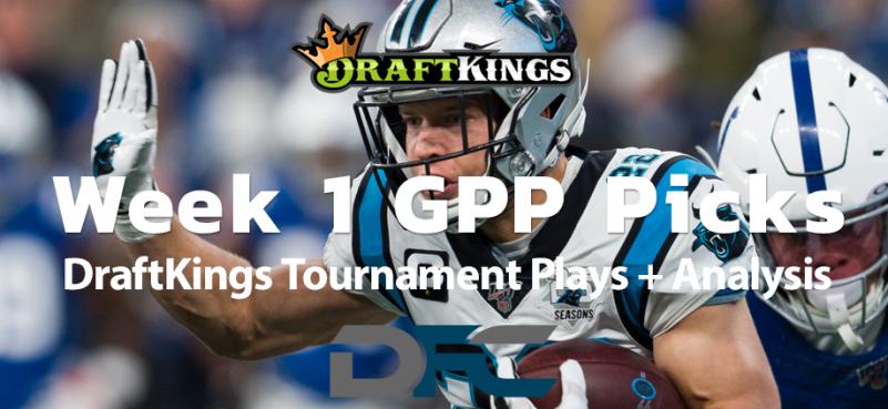 Week 1 DraftKings NFL GPP Picks