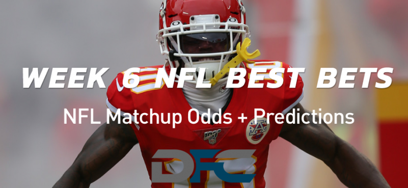 Week 6 NFL Best Bets, Picks, & Predictions