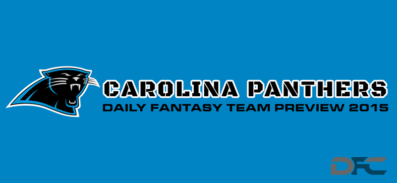 Carolina Panthers Daily Fantasy Team Preview