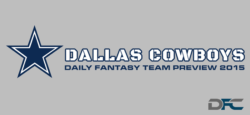 Dallas Cowboys Daily Fantasy Team Preview