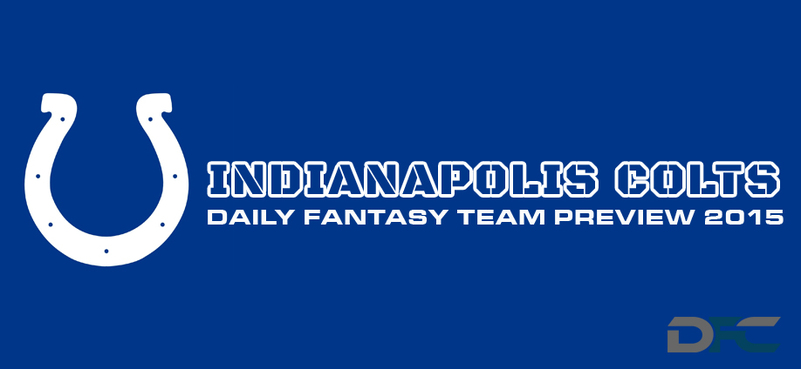 Indianapolis Colts Daily Fantasy Team Preview
